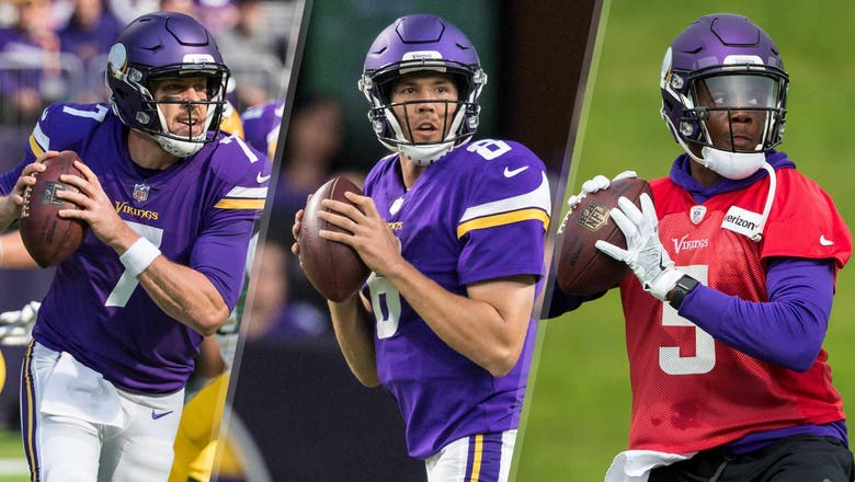 StaTuesday: Vikings set to start 3 QBs in a season for 10th time
