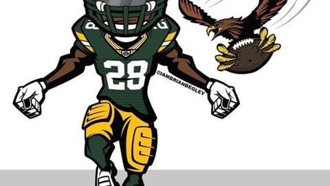 Josh Hawkins, Packers defensive backs