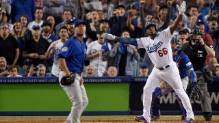 Yasiel Puig leads the Dodgers to a 1-0 NLCS lead over the Cubs