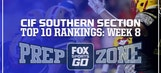 FOX Sports West HSFB Rankings: Week 8