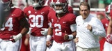 Nick Saban's No. 1 Crimson Tide crushes the Tennessee Volunteers 45-7
