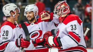 Canes LIVE To Go: Darling stands on his head in Hurricanes' 2-1 victory over the Flames