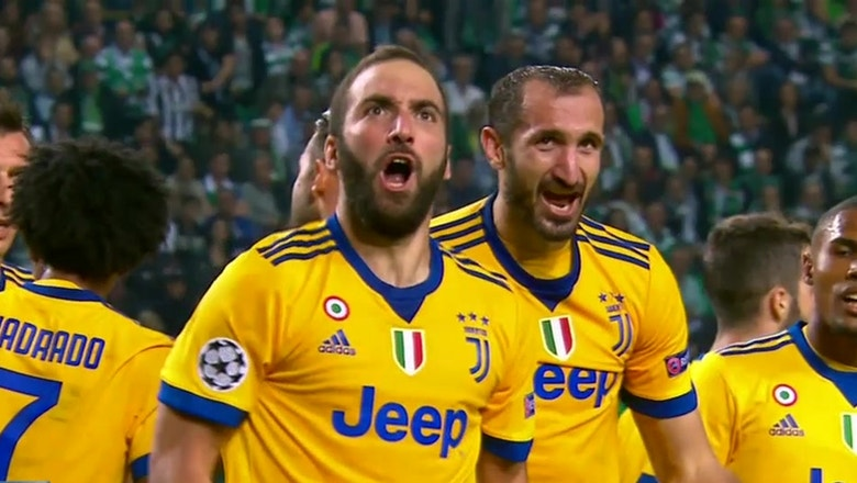 Sporting CP vs. Juventus   2017-18 UEFA Champions League Highlights