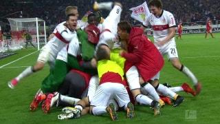 Chadrac Akolo scores in stoppage time for Stuttgart win | 2017-18 Bundesliga Highlights