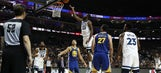 Curry leads Warriors past Wiggins, Wolves in preseason finale