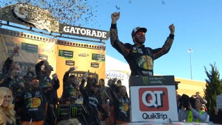 Martin Truex Jr. scores his seventh win of the year | 2017 KANSAS