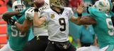 Saints host Lions, trying to climb above .500