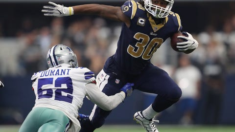 OVERREACTION: Todd Gurley is the best all-around back in the NFL.