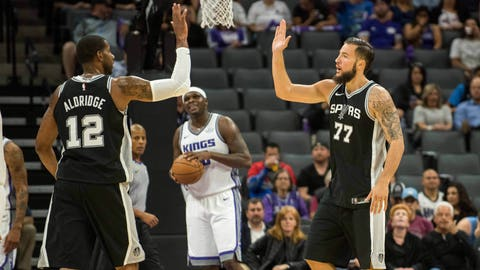 Young Kings shine in 106-100 preseason win over Spurs