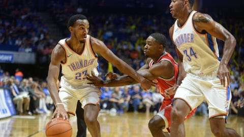 NBA: Preseason-Houston Rockets at Oklahoma City Thunder