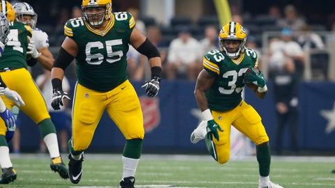 Aaron Jones, Packers running back (↓ DOWN)