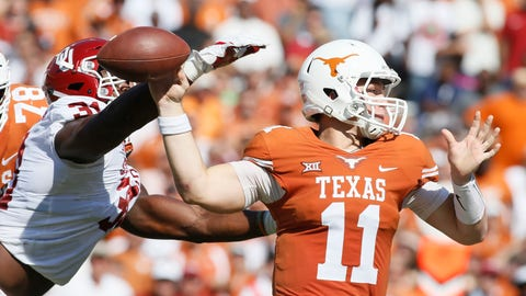 NCAA Football: Oklahoma at Texas