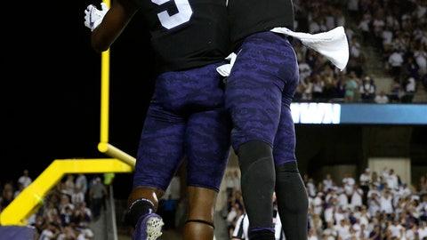NCAA Football: Kansas at Texas Christian