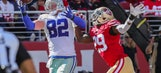 Cowboys dominate 49ers 40-10 behind 3 Elliott touchdowns