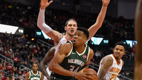 Bucks jump out early and knock off Hawks