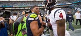 Watson, Wilson duel as Texans and Seahawks play NFL's 'Game of the Year'