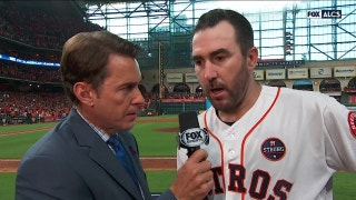 Justin Verlander on his CG gem with 13 K's in Game 2
