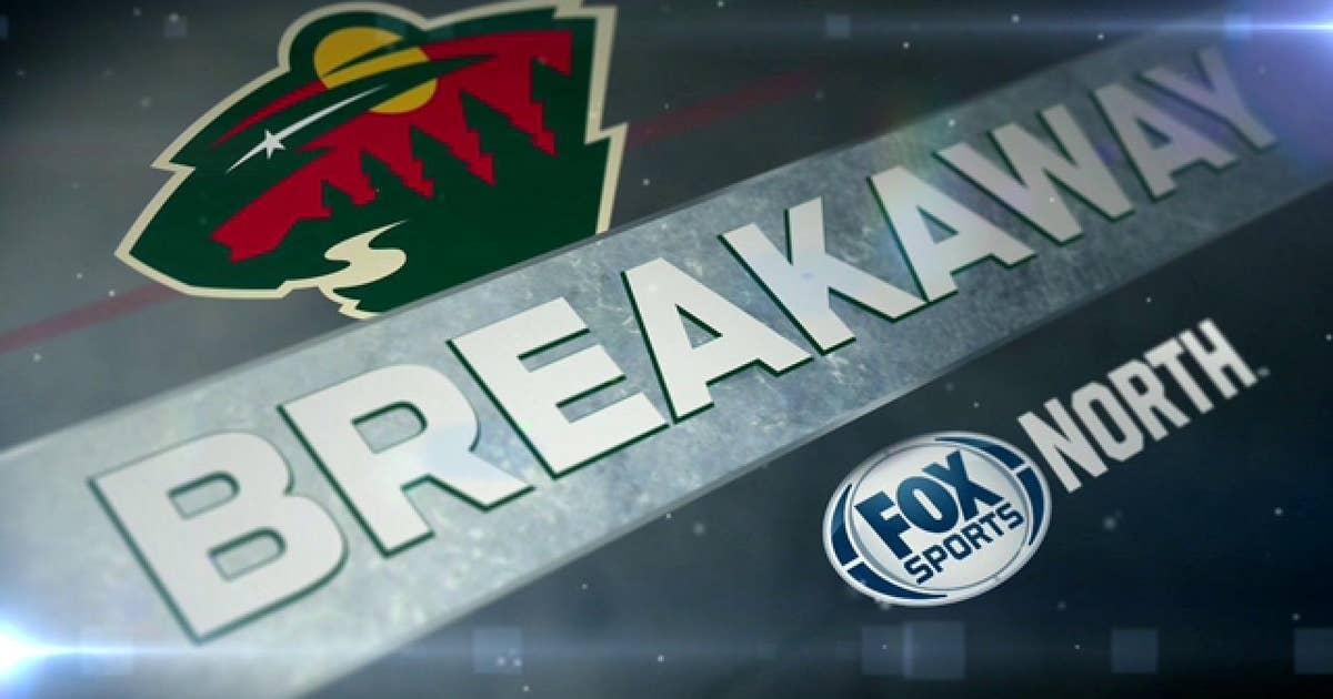 Wild Breakaway: Chris Stewart keeps rolling