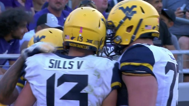 David Sills snags a TD at the back of the end zone for WVU