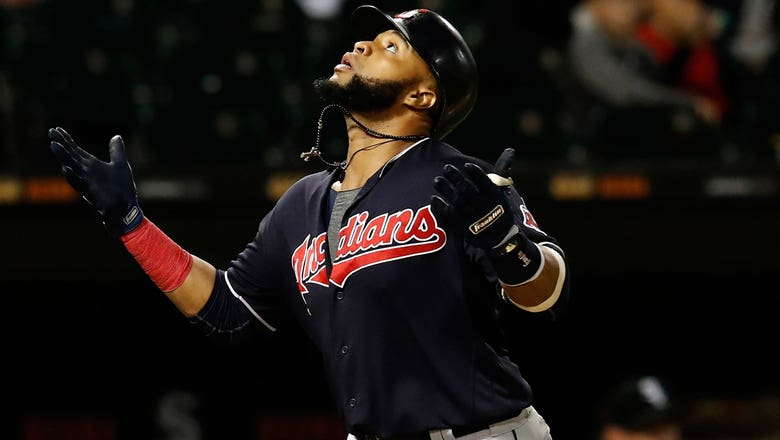 Indians make $17.4 million qualifying offer to Santana