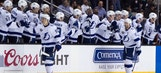 Lightning kick off road trip with dominating win over Sharks