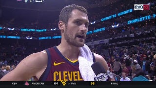 Kevin Love credits Channing Frye, talks Cavs road trip with Allie after win