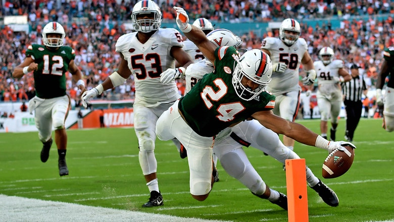 Cardiac 'Canes: Miami reels off 30 unanswered points to beat Virginia
