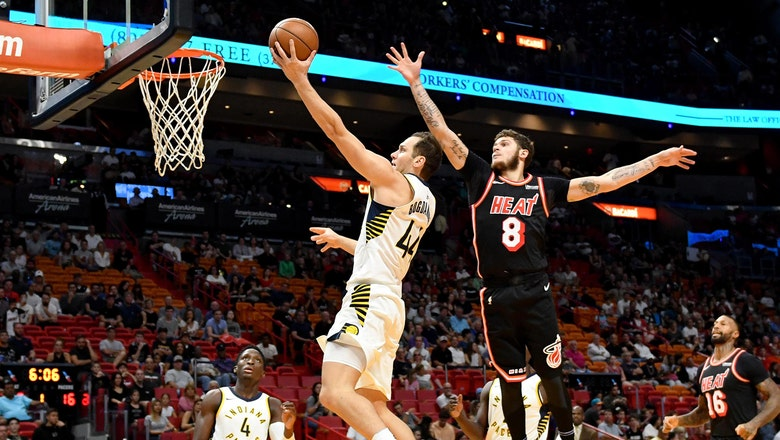 Heat overpowered in 2nd half in blowout loss to visiting Pacers
