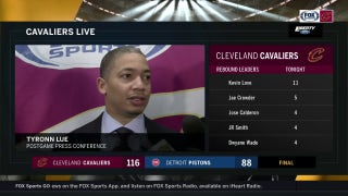 Ty Lue lists greats who had heavy minutes when asked about LeBron's workload