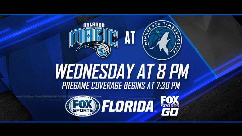 Preview: Magic back on the road, looking to snap losing streak in Minnesota
