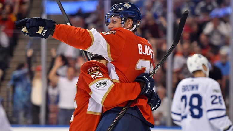 Nick Bjugstad, Panthers defeat Maple Leafs in shootout