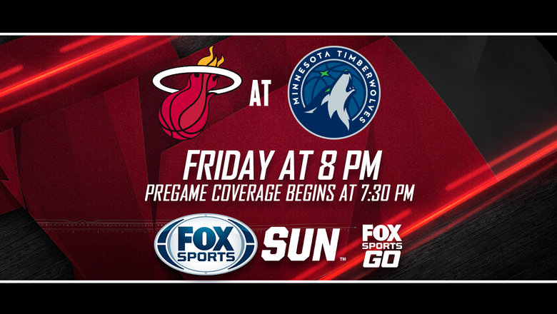 Preview: Coming off big victory, Heat hit road to battle with Timberwolves