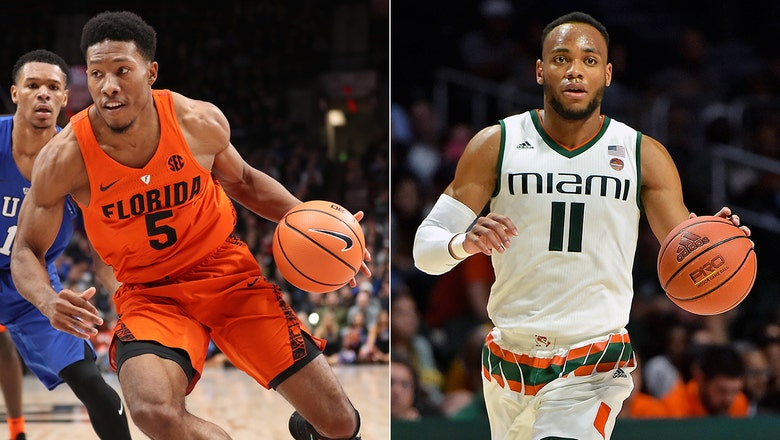 Florida moves into top five of AP basketball poll during off week, Miami sticks at 10