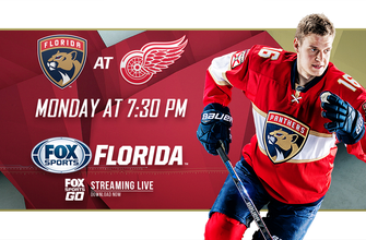 Preview: Panthers begin lengthy road trip with showdown against Red Wings