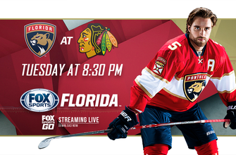 Preview: Panthers try to snap Blackhawks' streak in trip to Chicago