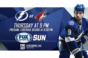 Preview: Red-hot Lightning try to avoid letdown vs. league-worst Coyotes