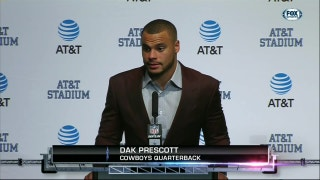 Dak Prescott on Struggling Offense: 'Run game is going, pass game is not'