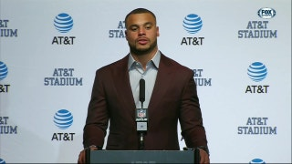 Dak Prescott: 'This is a tough one, thankfully we get to go at it Thursday'