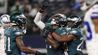 Shannon Sharpe gloats over the Eagles' win against the Cowboys in Week 11