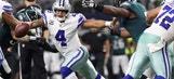 Cris Carter explains how the return of Cowboys LT Tyron Smith will affect Dak Prescott