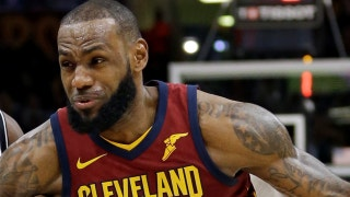 "Nick Wright: ""It is not hyperbole to say LeBron is having the best season of his career"""