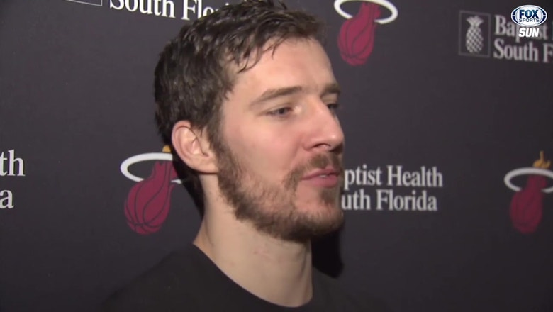 Heat's Dragic: 'It was a good day, a lot of physicality'