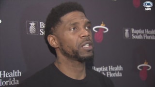 Heat's Udonis Haslem encouraged after intense, physical practice