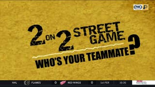 Pacers' choices for 2 on 2 street game teammate