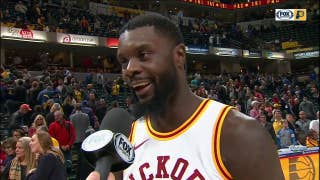 Lance Stephenson on changing the atmosphere in Pacers' win over Pistons