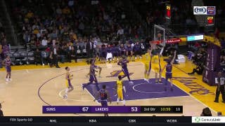 HIGHLIGHTS: Suns beat Lakers behind Booker's 33