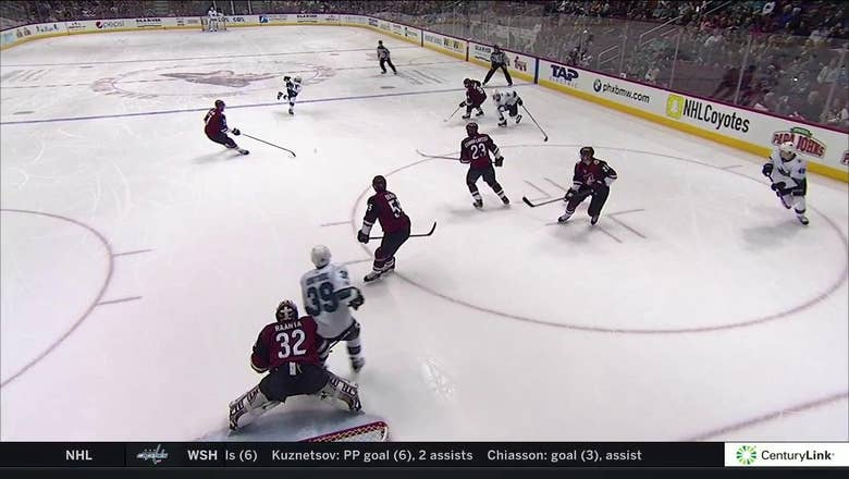 HIGHLIGHTS:  Sharks end Coyotes' win streak at 3