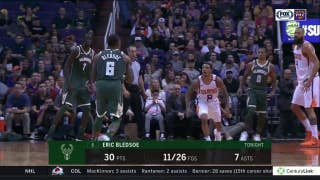 Bledsoe scores 30 in return to Phoenix; Monroe counters with 22 points 15 boards