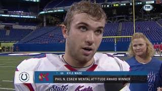 Kokomo's Kyle Wade wins Phil N. Eskew Mental Attitude Award