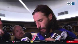 Thorburn on Blues loss: 'It's definitely a game we can learn from'